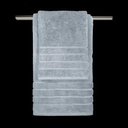Γαλάζιες Πετσέτες Μπάνιου Guy Laroche Σετ Τριών Τεμαχίων Mezzo Ciel
