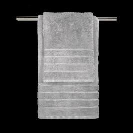Επώνυμες Πετσέτες Guy Laroche 100% Βαμβακερές Mezzo Grey