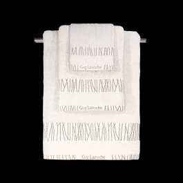 Σετ Πετσέτες Μπάνιου Βαμβακερές, Ιβουάρ, Guy Laroche - Premana Ivory