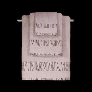 Βαμβακερές Πετσέτες Μπάνιου Guy Laroche Premana Pudra - Σετ Τρία Τεμάχια