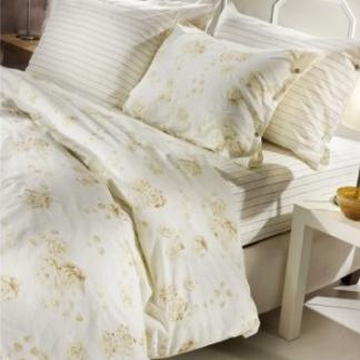 Ημίδιπλη Παπλωματοθήκη Guy Laroche Sharon Sand - Floral και Ριγέ Μοτίβο