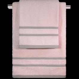 Ροζ Πετσέτες Μπάνιου Guy Laroche Βαμβακερές Σετ Τρία Τεμάχια