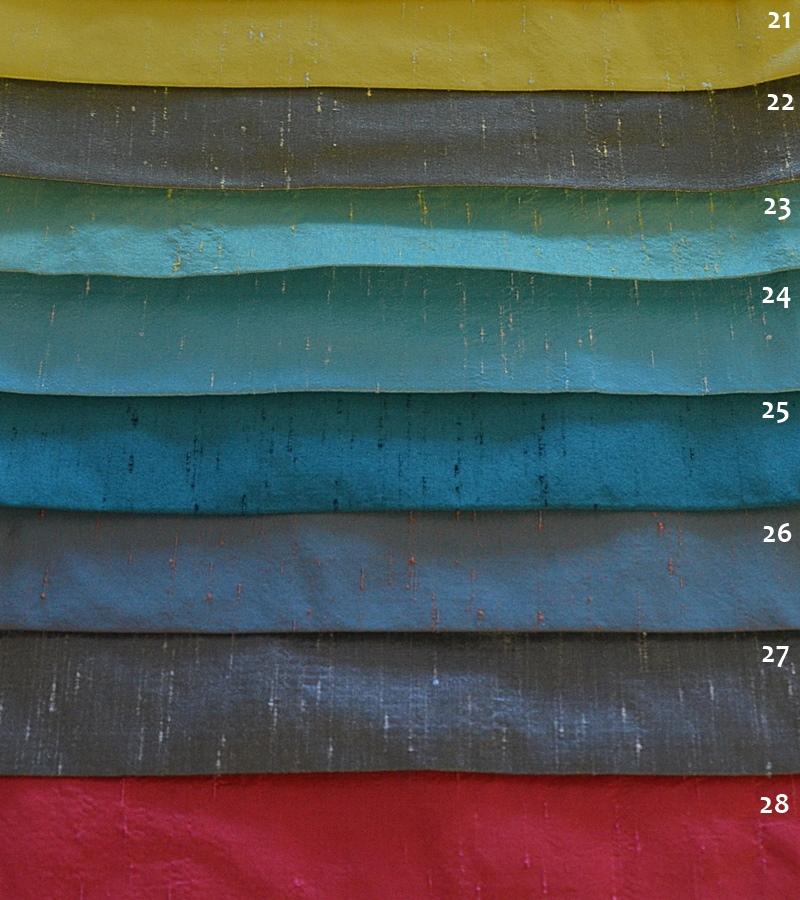Μονόχρωμο Συνθετικό Μετάξι Σε Υπέροχες Αποχρώσεις Για Κουρτίνες και Διακόσμηση