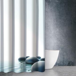 Κουρτίνες Μπάνιου Θεματικές - Θαλασσινό Τοπίο Pasxos