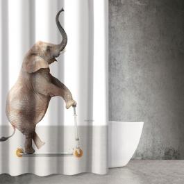 Υφασμάτινη Κουρτίνα Μπάνιου Saint Clair Funny 510 Ελεφαντάκι