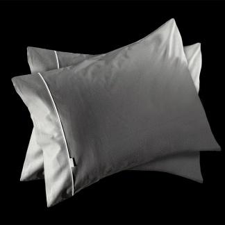 Γκρι Μονόχρωμη Μαξιλαροθήκη Guy Laroche Reserve Titanium