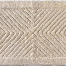 Χαλάκια Μπάνιου Μπεζ Guy Laroche Mozaik Natural