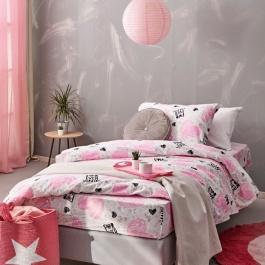 Ροζ Κοριτσίστικα Σεντόνια TC925