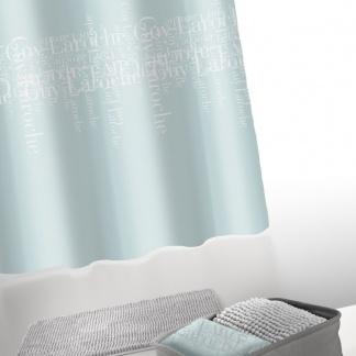 Κουρτίνα Μπάνιου Τιρκουάζ Guy Laroche Abbey Silver