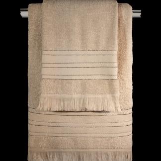 Σετ Πετσέτες Μπάνιου Στο Χρώμα Της Άμμου - Guy Laroche Donna Wenge
